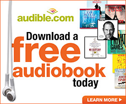 Visit audiblepodcast.com/isbw for your free book!