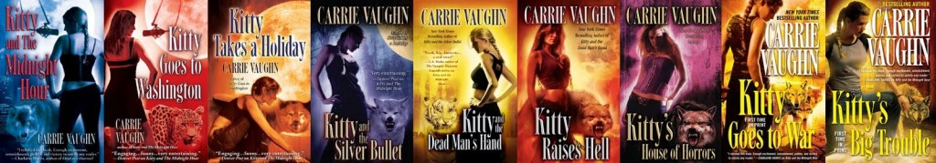So many sequels, so little time! Carrie Vaughn's Kitty series, I can only hope The Shambling Guides will last this long.