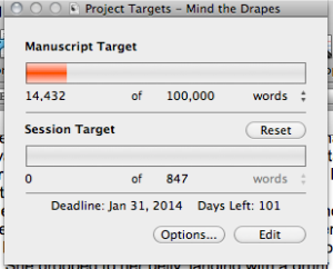 Scrivener wordcount